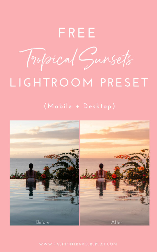 Free Preset - FashionTravelRepeat
