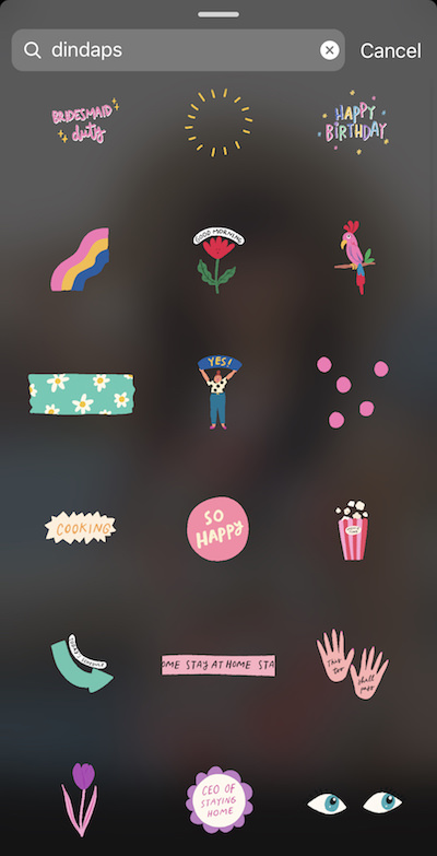 How To Find Cute Instagram Story Stickers Gifs Fashiontravelrepeat