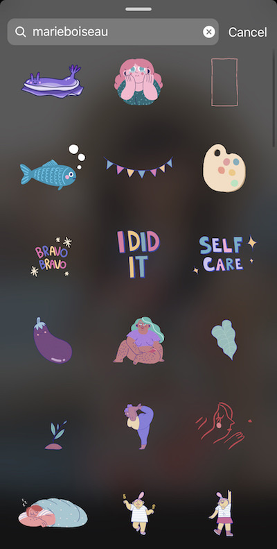 How To Find Cute Instagram Story Stickers Gifs Fashiontravelrepeat Discover ideas about phone stickers. how to find cute instagram story